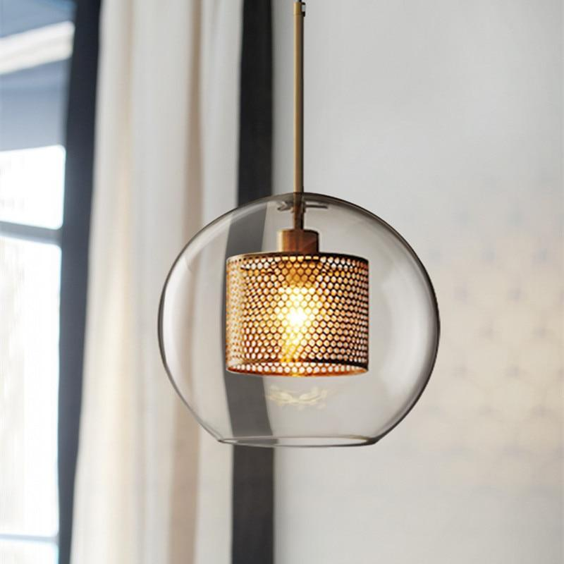 Inner Metal Transparent Pendant Light - Nordvian Modern Nordic Decor (light - )
