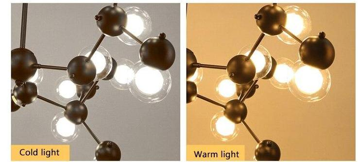Molecule Structured Pendant Light - Nordvian Modern Nordic Decor (light - )