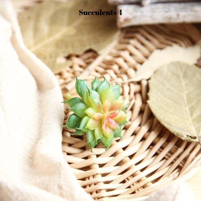Artificial Succulents Variety - Nordvian Modern Nordic Decor (plant - )