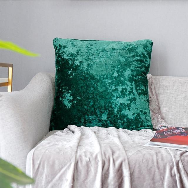 Ocean Dream Velvet Pillow Cover - Nordvian Modern Nordic Decor (Cushion Cover - )