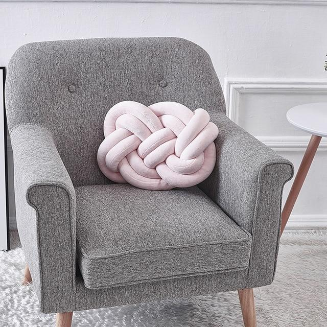 Infinity Knot Pillow - Nordvian Modern Nordic Decor (Cushion - Cozy, Living Room, not-hanger, Pillows)