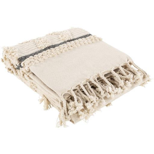 Hand Woven Boho Throw - Nordvian Modern Nordic Decor (Blankets - )