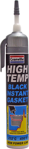 Granville High Temp Black Instant Gasket Power Can 200ml