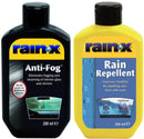 Rain-X Rain Repellent Anti-Fog Value Pack
