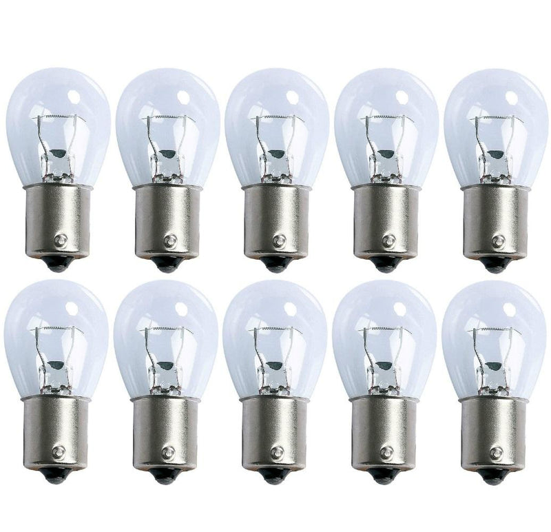 382 Replacement 12V 21W Brake Light Bayonet Bulbs (Pack of 10)