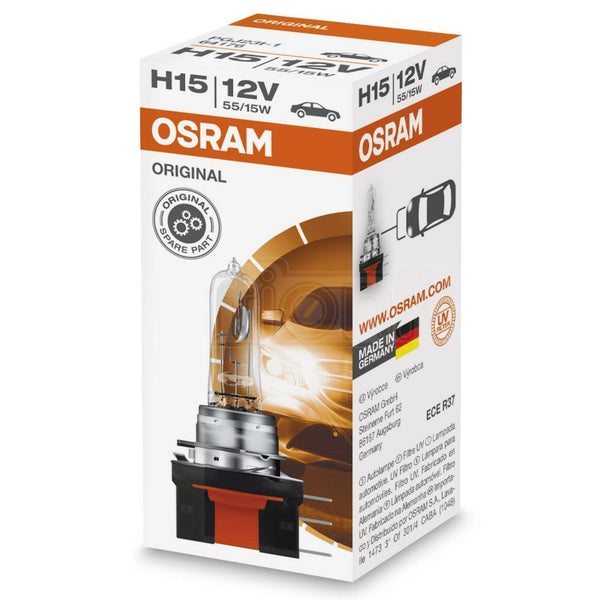 Osram H15 Original 12V 15/55W Dipped Main Headlight Bulb