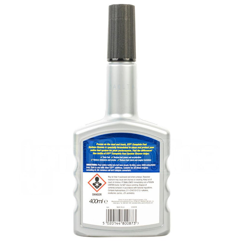 STP Complete Fuel System Cleaner - Diesel 400ml