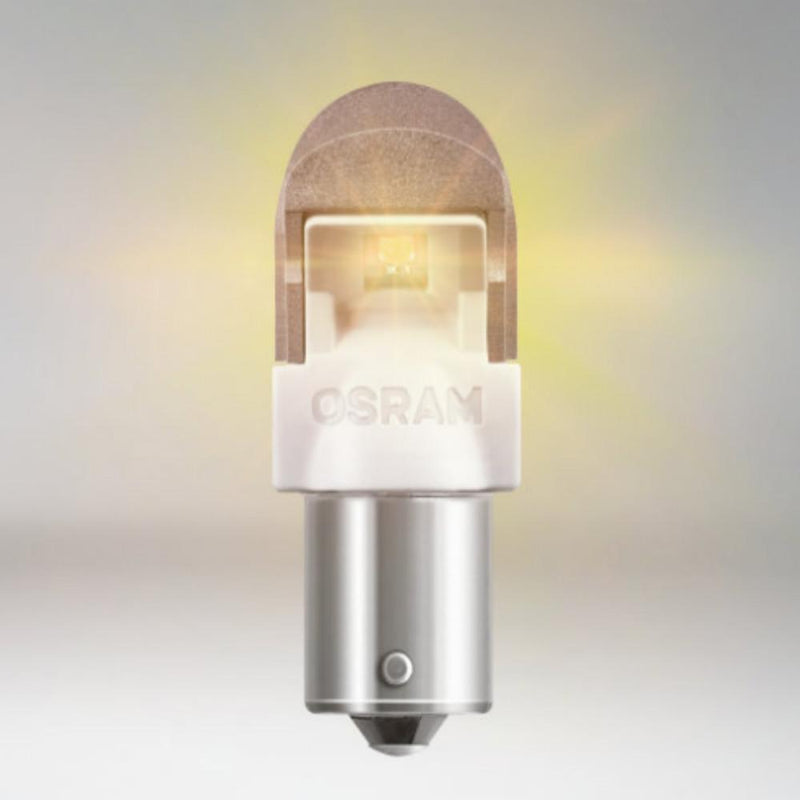 OSRAM LEDriving Retrofit 581 PY21W Amber Long Life Bulbs (Twin Pack)