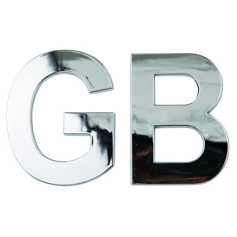 GB Chrome Badge