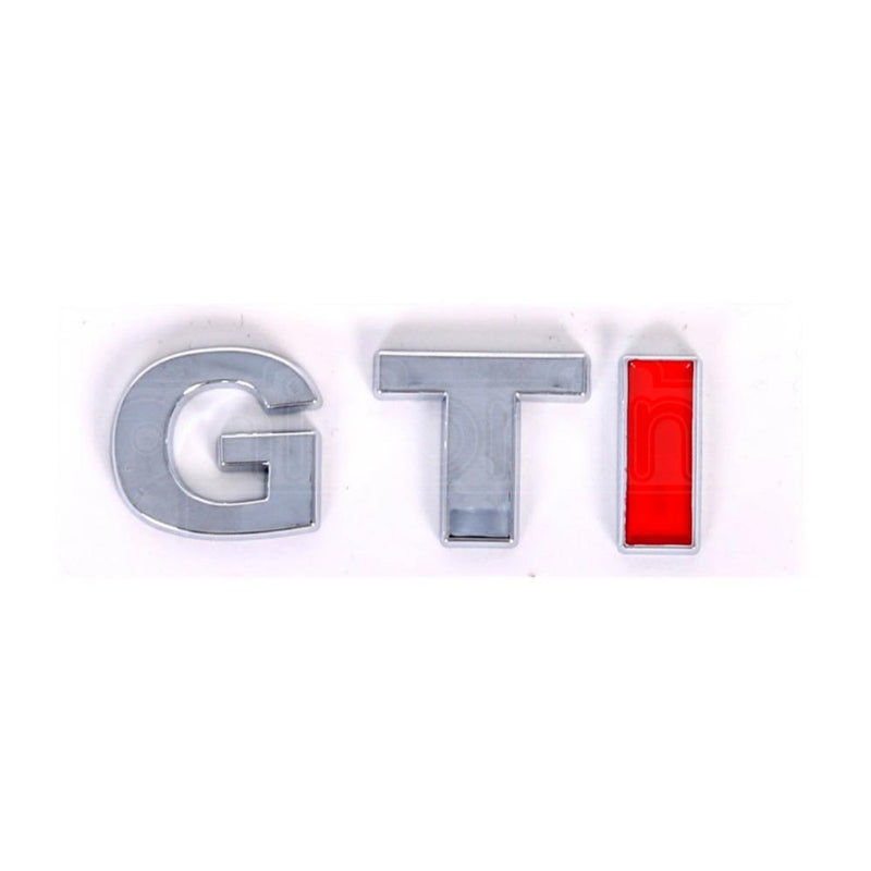 Simply Adhesive GTI Chrome Badge