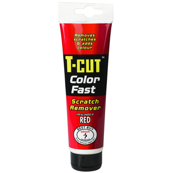 T-Cut Colour Fast Scratch Remover Red 150g