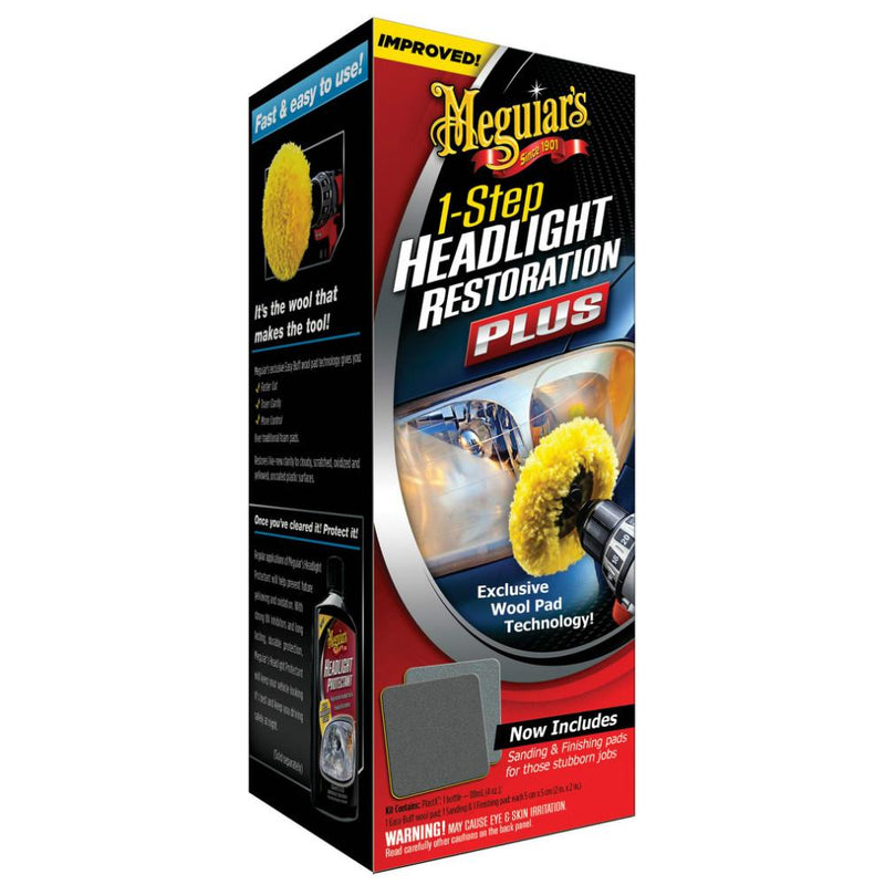 Meguiar's 1-Step Headlight Restoration Plus