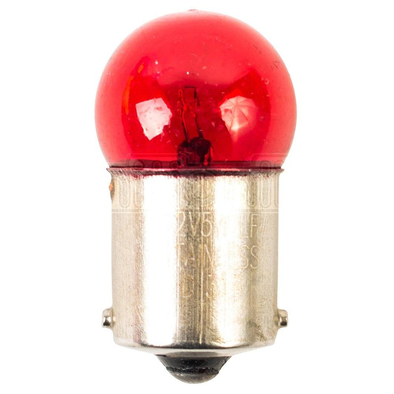 IgnitionLine 207 Red 12V 5W Bayonet Bulbs (Pack of 2)