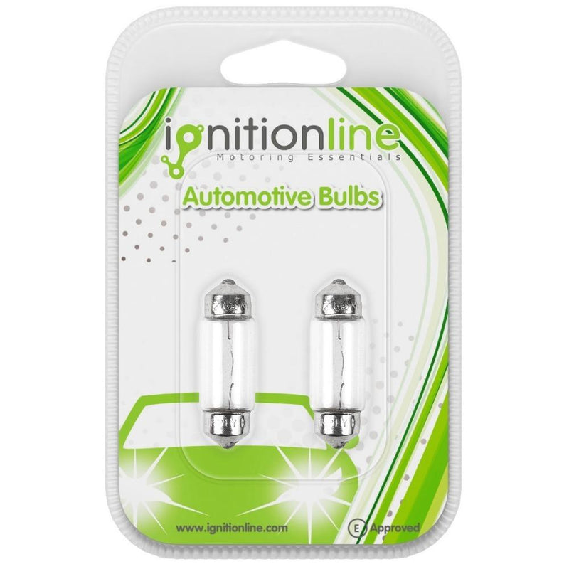 239 12V 5W Number Plate & Interior Festoon Bulbs (Pack of 2)