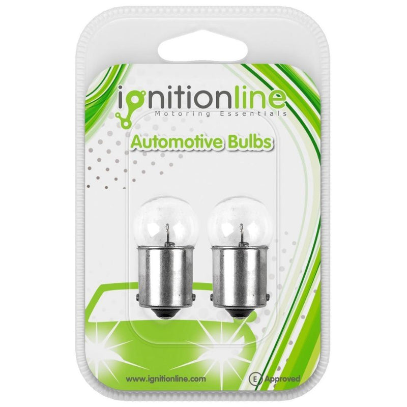 244 6V 10W Motorcycle Bulbs (Twin Pack)
