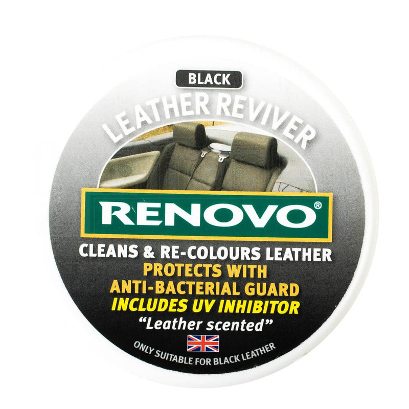 Renovo Leather Reviver Black 200ml