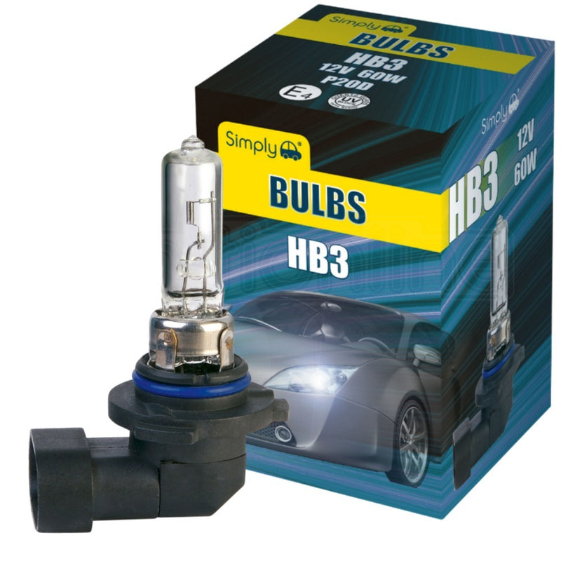 Simply HB3 12V 60W Halogen Headlight Bulb