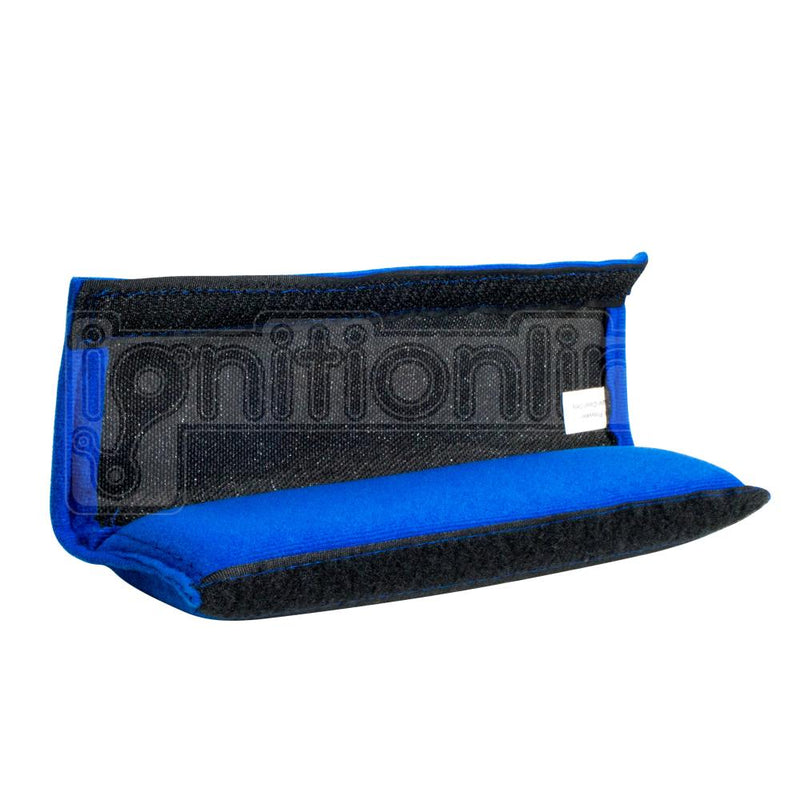 Simply Memory Foam Seat Belt Pads Blue