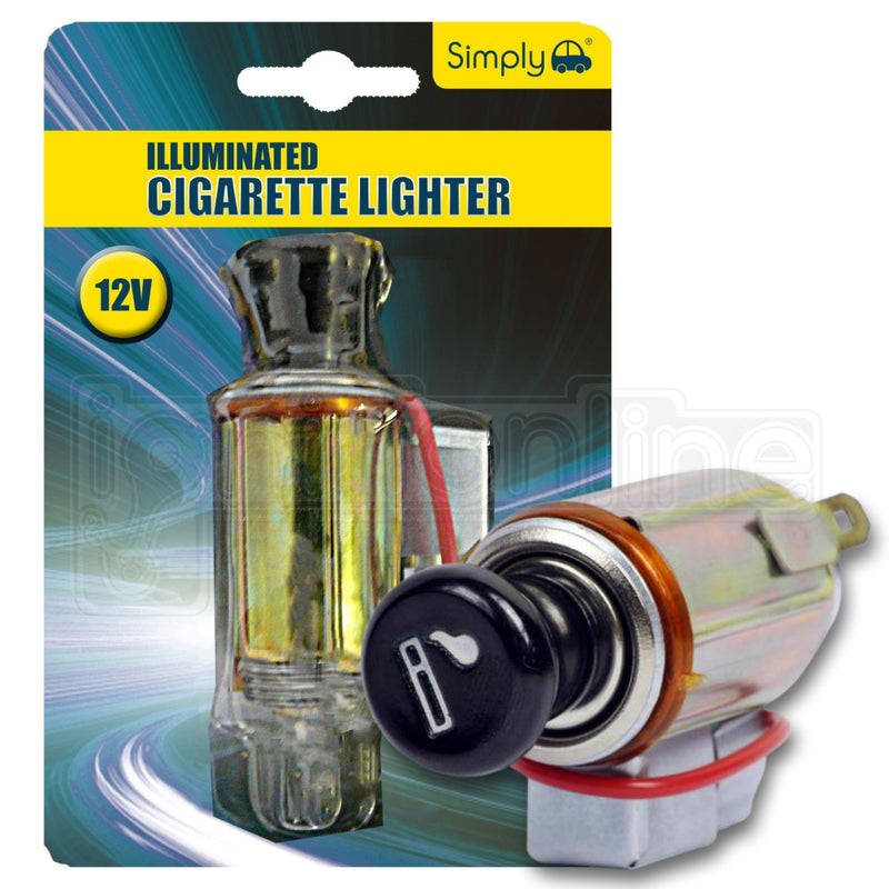 Simply Illuminated Cigarette Lighter American & Japanese