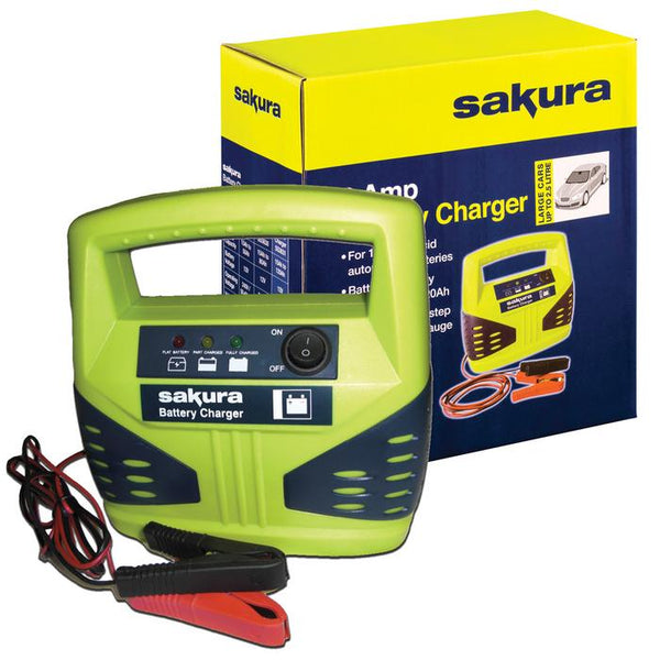 Sakura Battery Charger 4 Amp