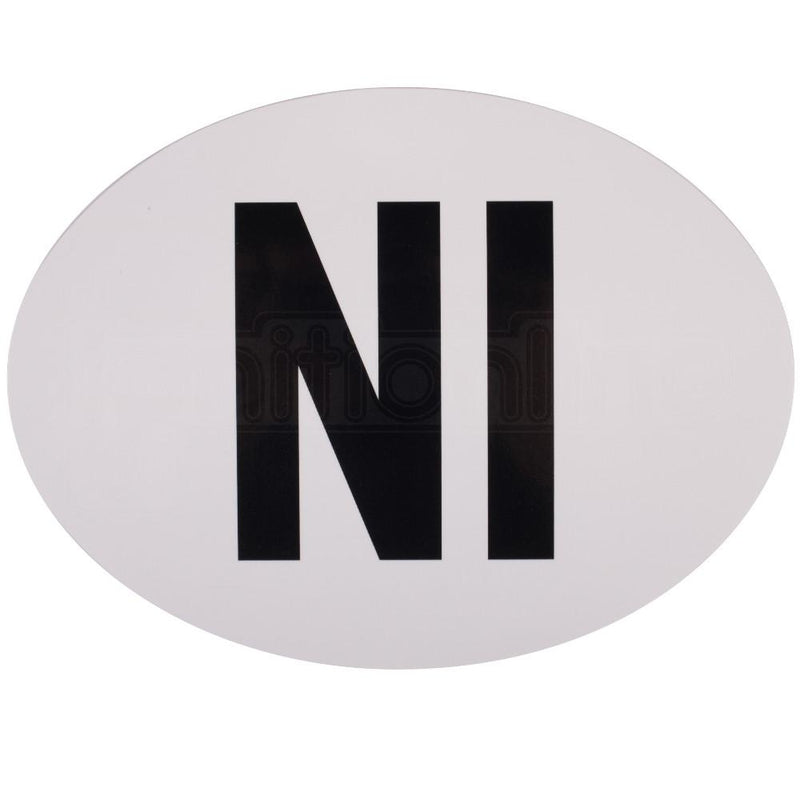 Adhesive Northern Ireland Sticker
