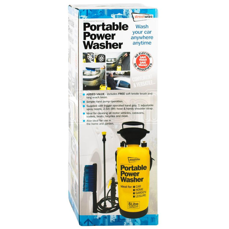 Portable Power Washer 8 Litre