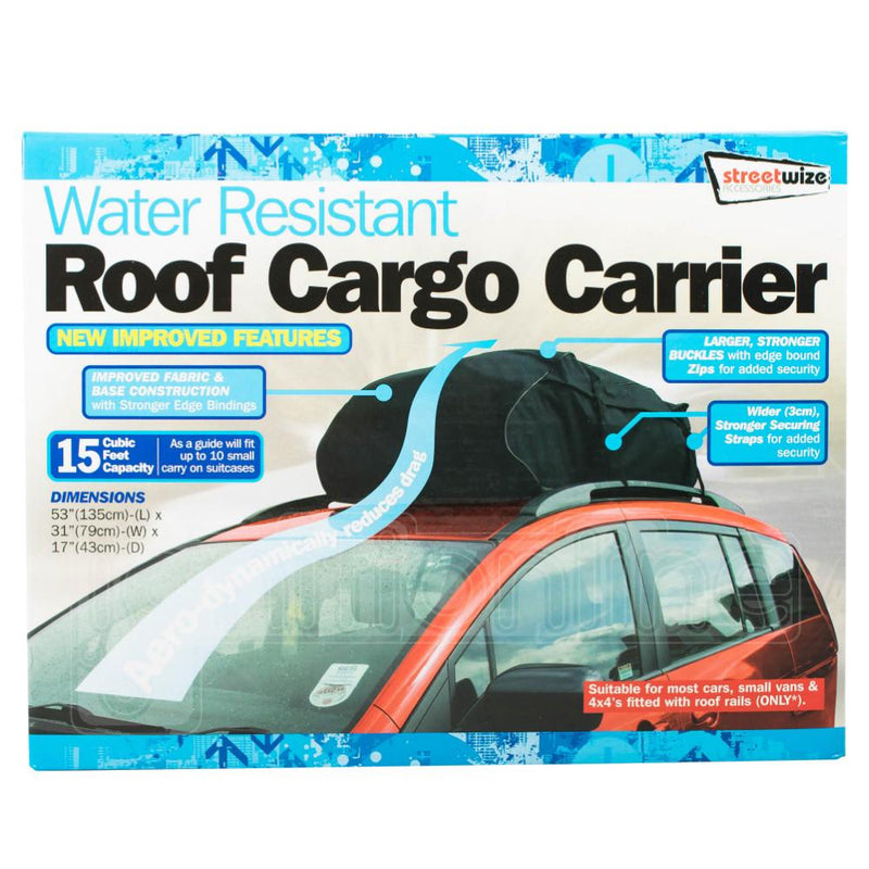 Water Resistant Roof Cargo Carrier