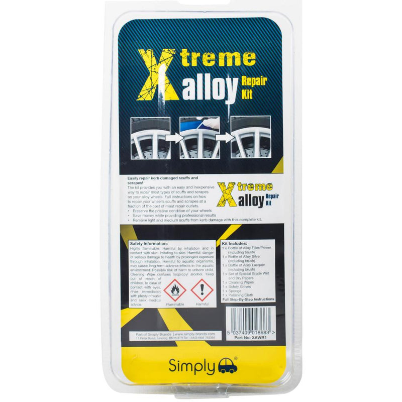 Simply Xtreme Alloy Repair Kit - Silver