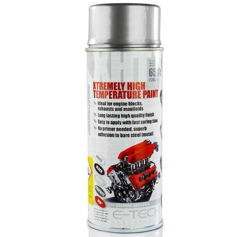 E-TECH XHT Xtremely High Temperature Paint - Silver