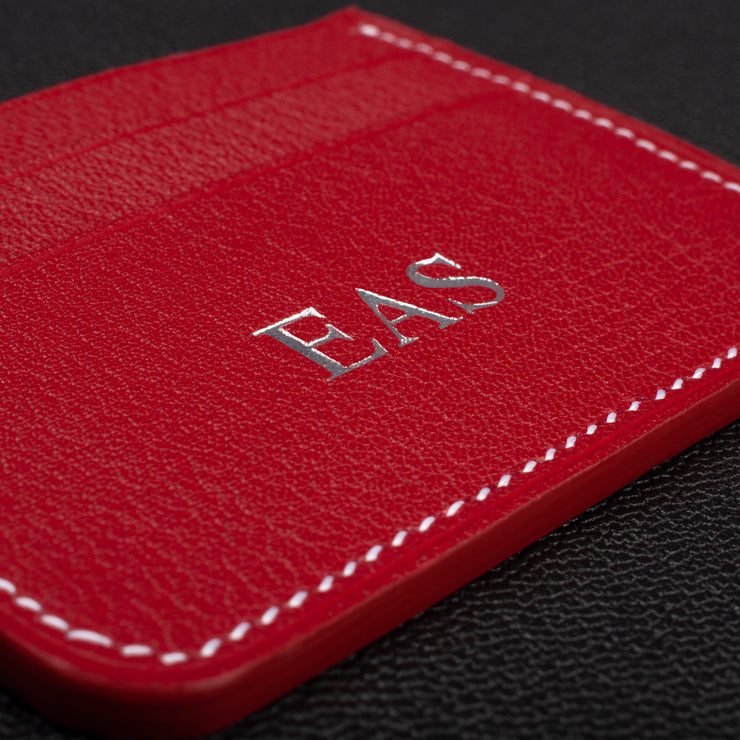 Imperial Red & Sky Blue Card Holder
