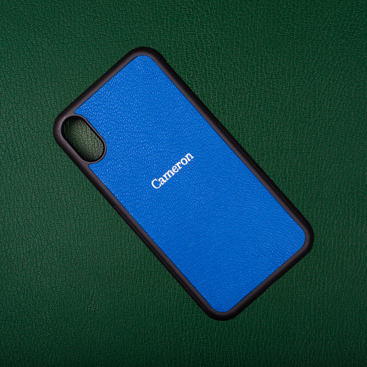 Electric Blue iPhone Case