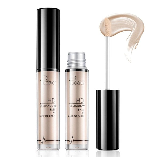 Pudaier Natural Primer Makeup Eyes Base Waterproof Cream  Under Shadow Cosmetic Eyeshadow Base Primer Makeup Moisturzing
