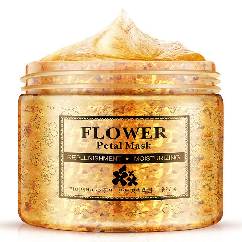 Flower Petals Mask hydrating face mask Whitening Hydrating Moisturizing Washable day and night mask Anti-Aging Skin Care