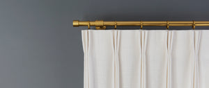 Quick Ship Panel, Double Width, Pinch Pleat, Pacific Linen