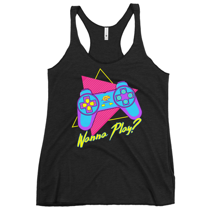 Retro Play Racerback Tank - Shop Cool Tricks