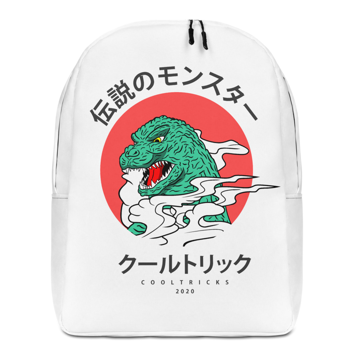 KANJI LIZARD backpack - Shop Cool Tricks