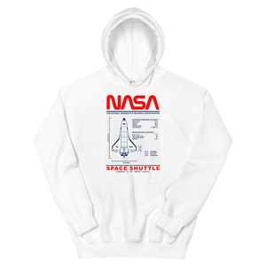 NASA SHUTTLE Hoodie - Shop Cool Tricks