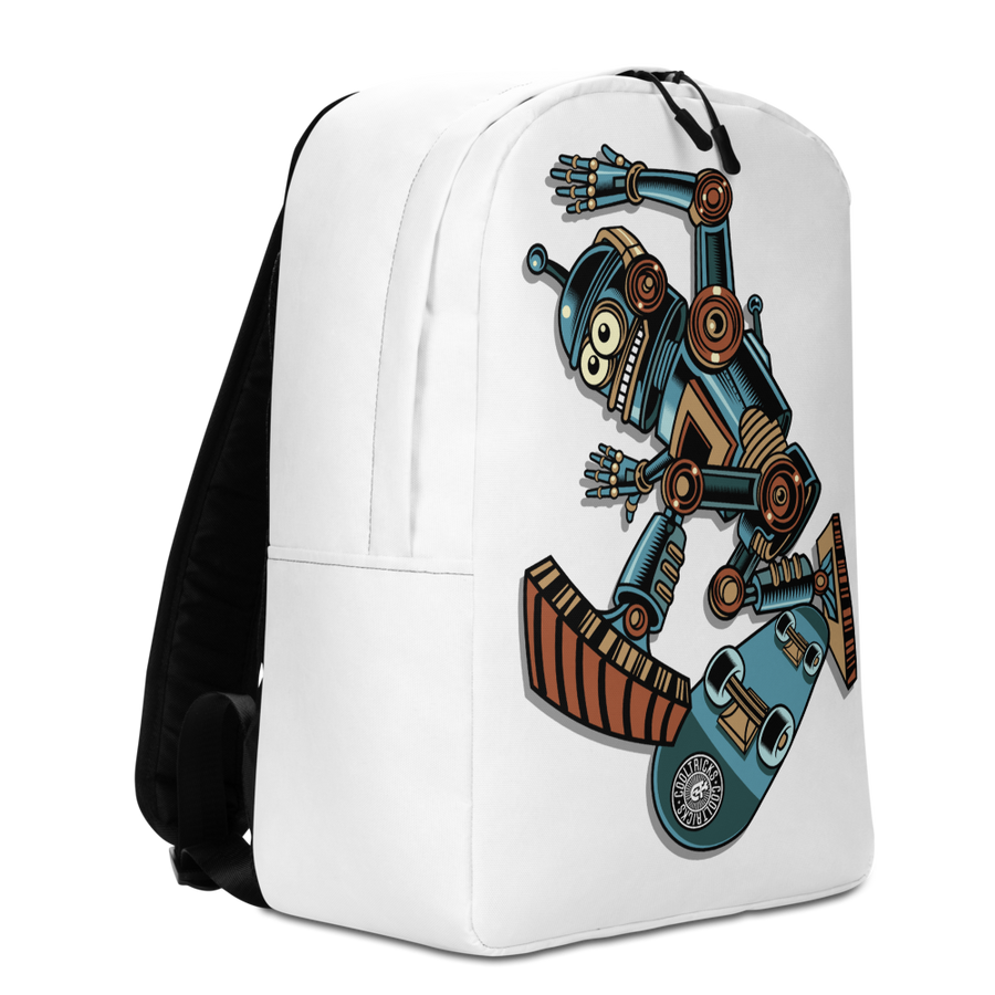 ROBOT SKATER Backpack - Shop Cool Tricks