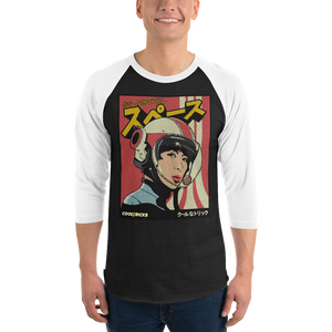 FOX PILOT 3/4 sleeve raglan shirt