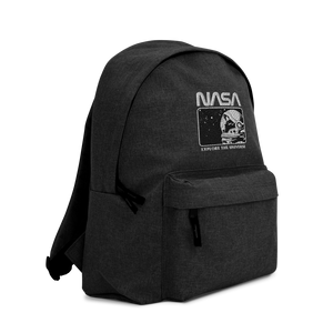 NASA EXPLORER Embroidered Backpack - Shop Cool Tricks