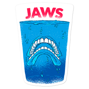 Jaws Bubble-free stickers - Shop Cool Tricks