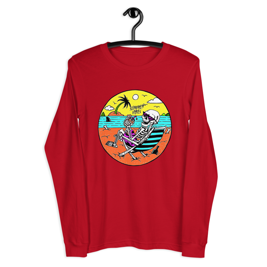 SUMMER VIBES Long Sleeve Tee