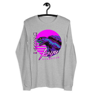 KAIJU NEON LIZARD Long Sleeve Tee