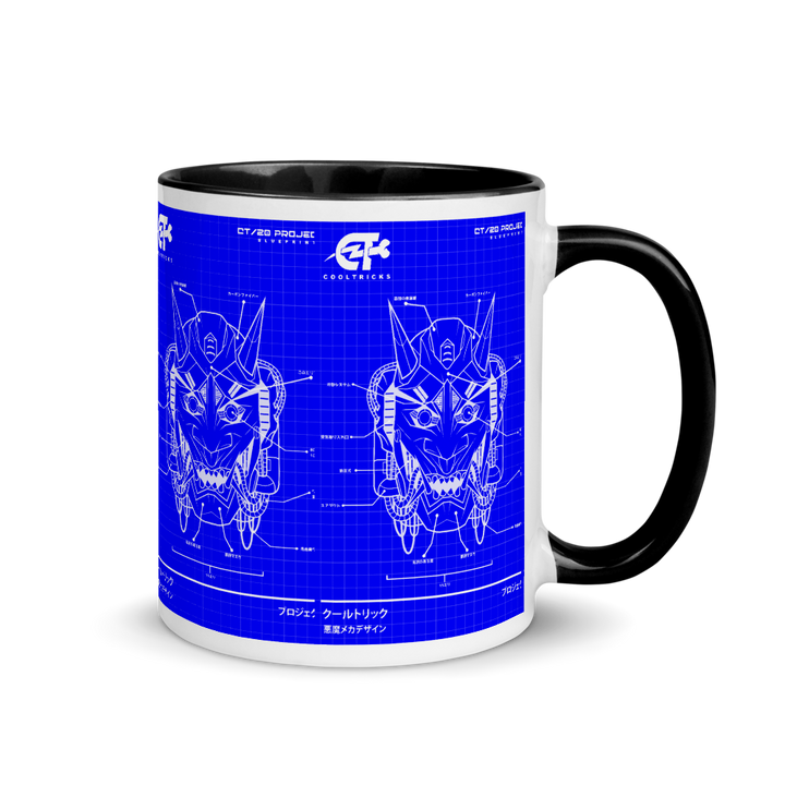 WARRIOR BLUEPRINT Mug - Shop Cool Tricks