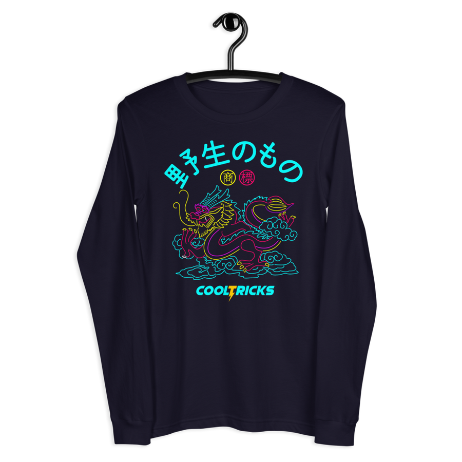 NEON DRAGON Long Sleeve Tee