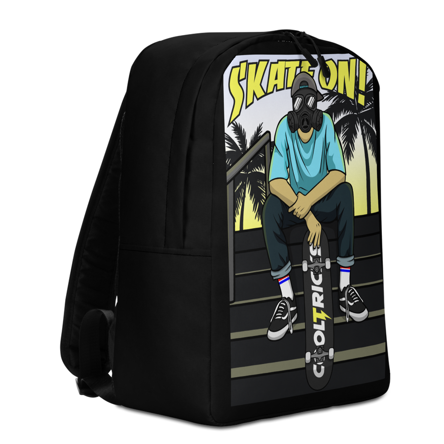SKATE ON! Backpack - Shop Cool Tricks