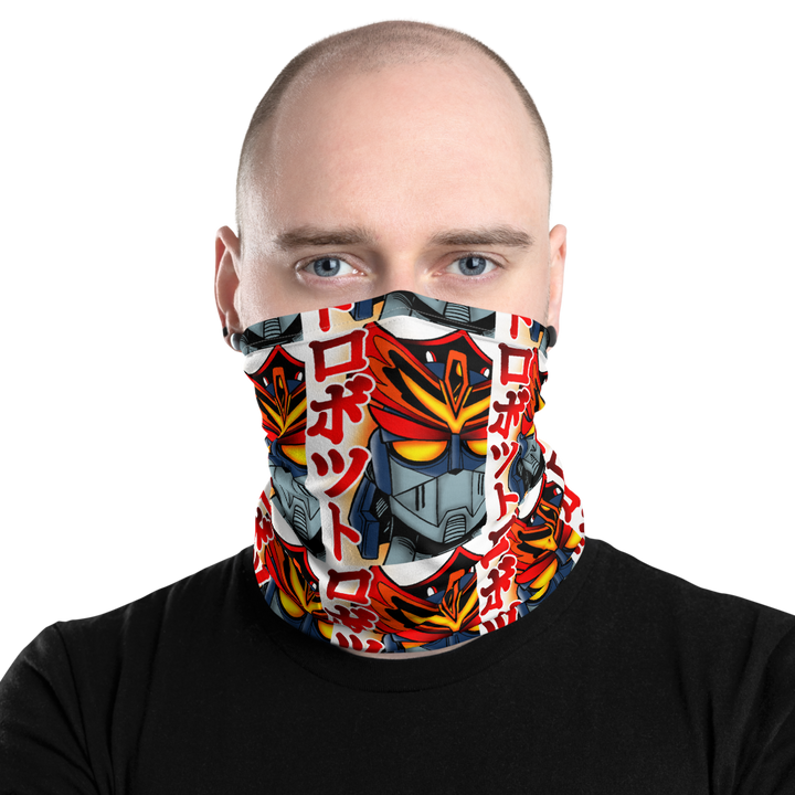 Kanji Robot CT20/2 Neck Gaiter by Cool Tricks - Shop Cool Tricks