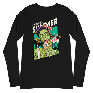 ZOMBIE ICE CREAM Sleeve Tee