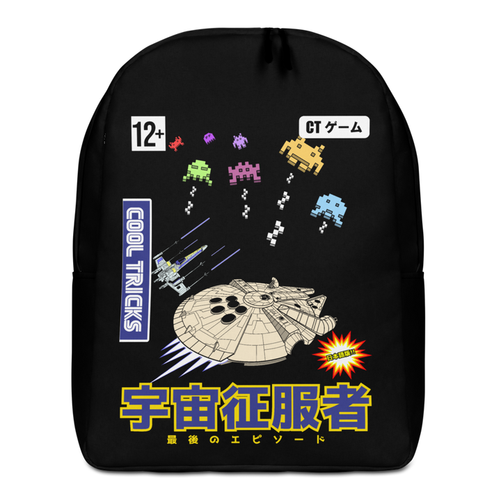 STAR INVADERS Backpack - Shop Cool Tricks