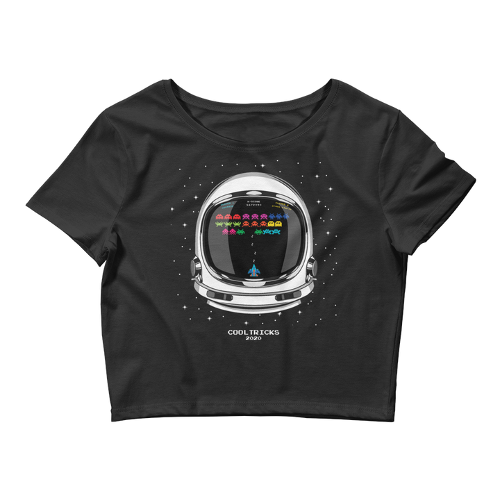 Space Wars Crop Tee - Shop Cool Tricks